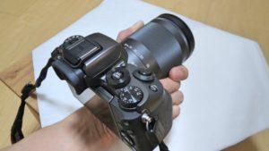 EOS M5 自宅でハンズオン撮影