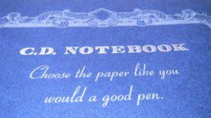 紳士なノート表紙デザイン1