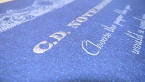紳士なノート表紙デザイン2