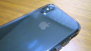 iPhoneX-Spigen-Hybrid-ClearCaseiPhoneX バックパネルビュー